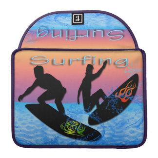 Surfing Macbook Pro Sleeve 13 inch