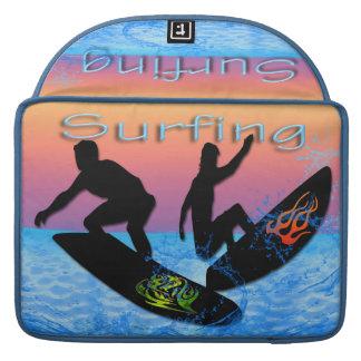 Surfing Macbook Pro Sleeve