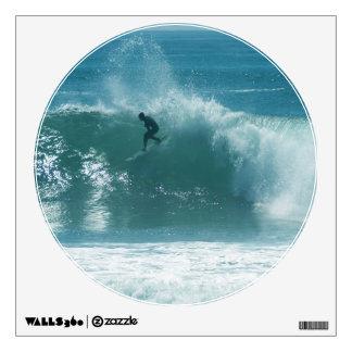 Surfing Malibu Waves Wall Stickers