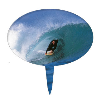 Surfing New Zealand perfect wave Cake Pick
