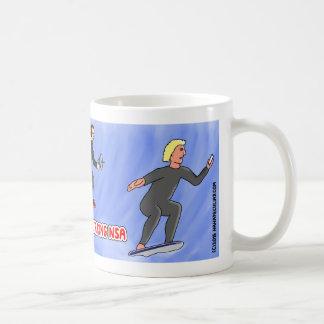 Surfing NSA mug