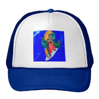 surfing nun hat