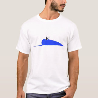 Surfing on a Wave T-Shirt Design