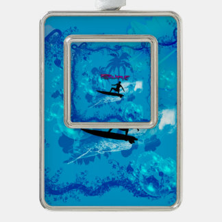 Surfing Ornament