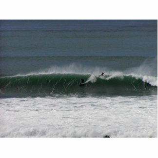 surfing photo statuette