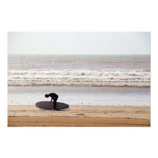 Surfing Photo Print