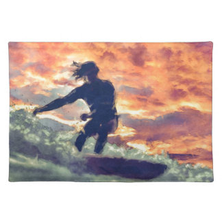Surfing Placemat