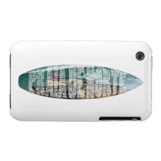 Surfing Praia de Norte iPhone 3 Cases