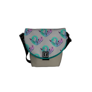 Surfing Rickshaw Messenger Bag
