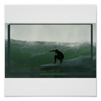 surfing rincon poster