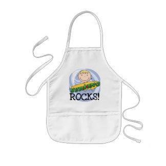 Surfing Rocks - Blond Boy Tshirts and Gifts Apron