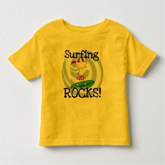Surfing Rocks Boy in Baseball Cap Tshirts and Gift