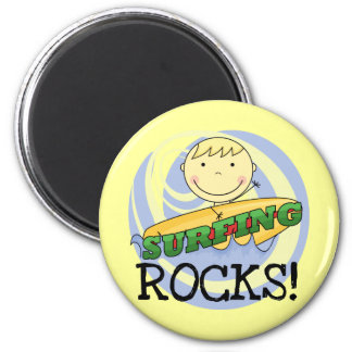 Surfing Rocks Tshirts and Gifts Refrigerator Magnets