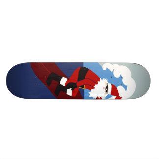 Surfing Santa! Skate Board Deck