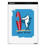 Surfing Shark Valentine Skin For iPad 2