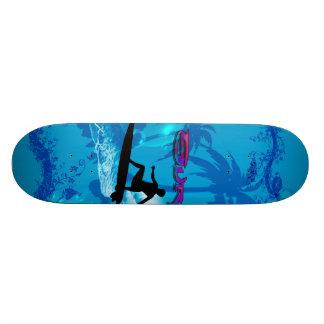 Surfing Skateboard Deck