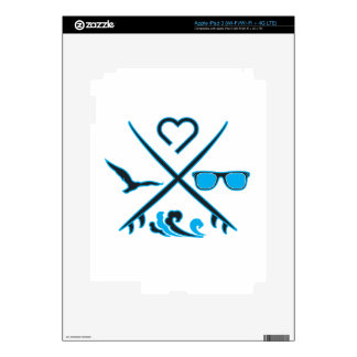 Surfing Skins For iPad 3