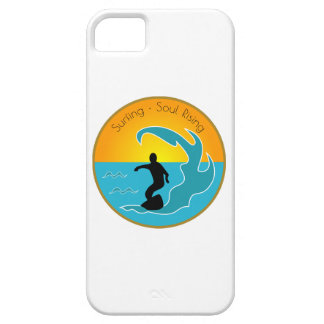 Surfing Soul Rising iPhone SE/5/5s Case