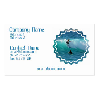 Surfing Style Business Card
