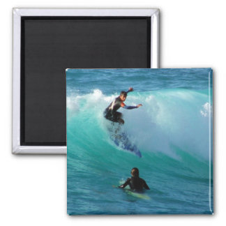 Surfing Style Square Magnet Fridge Magnet