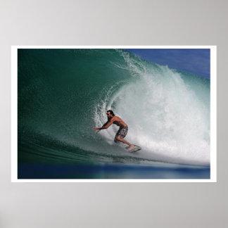 Surfing Sumatra Poster
