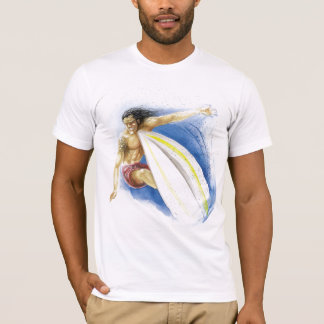 Surfing Summer Waves T-Shirt