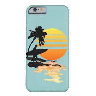 Surfing Sunrise Barely There iPhone 6 Case