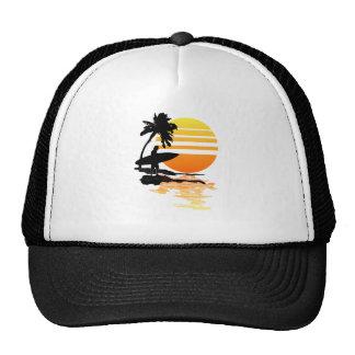 Surfing Sunrise Trucker Hat