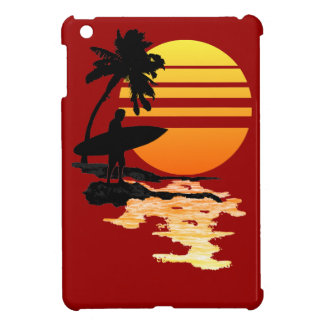 Surfing Sunrise Case For The iPad Mini