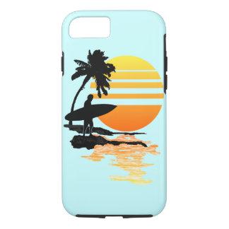 Surfing Sunrise iPhone 7 Case