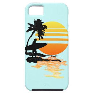 Surfing Sunrise iPhone SE/5/5s Case