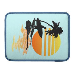 Surfing Sunrise Sleeve For MacBook Pro