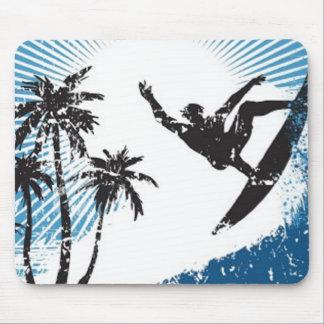 Surfing Surfer Mousepad