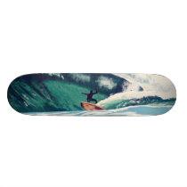 Surfing Surfer Ocean Beach Skate Board