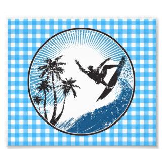 Surfing Surfer Art Photo