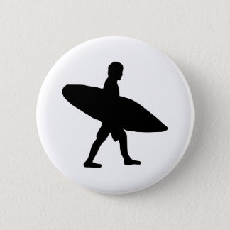 Surfing - Surfer Pinback Button
