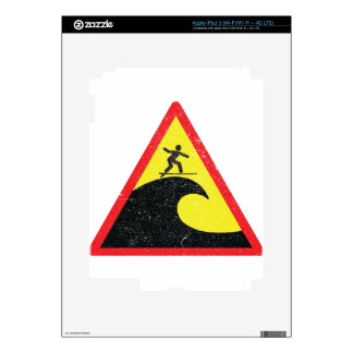 Surfing Surfer Surfs iPad 3 Decal
