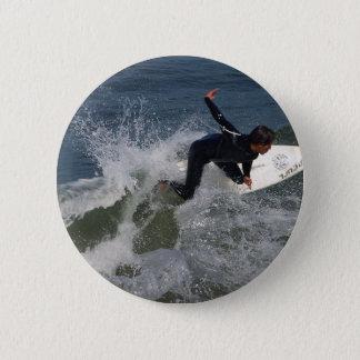 Surfing Surfers Waves Ocean Button