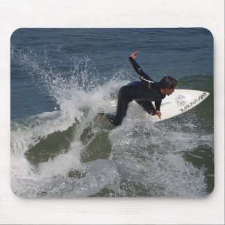 Surfing Surfers Waves Ocean Mouse Pad