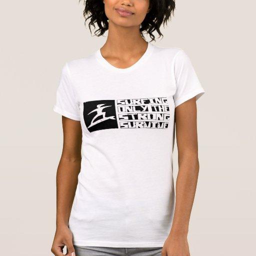 Surfing Survive T Shirt