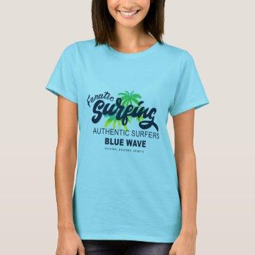 Beach Themed Surfing T-Shirt