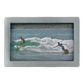 Surfing Tamarindo Belt Buckle
