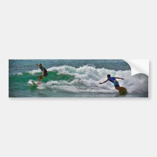Surfing Tamarindo Bumper Sticker