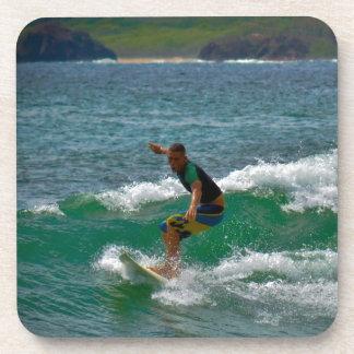 Surfing Tamarindo Drink Coaster