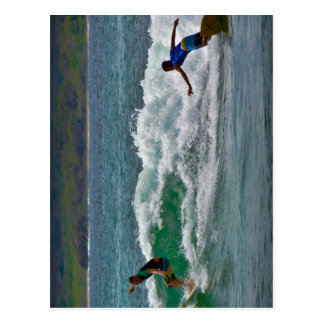 Surfing Tamarindo Postcard