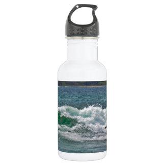 Surfing Tamarindo Stainless Steel Water Bottle