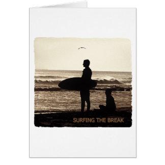surfing the break card