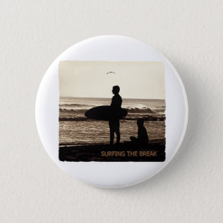 surfing the break pinback button