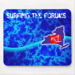 Surfing the Forums Mousepad