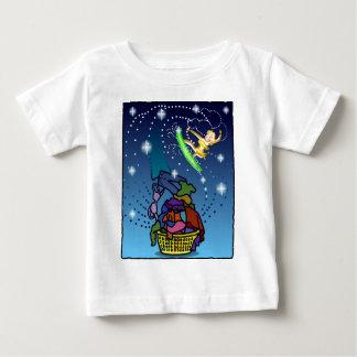 Surfing The Laundry WAY! Baby T-Shirt